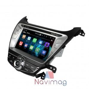 Hyundai Elantra 2014-2015 Navigatie dedicata cu Android