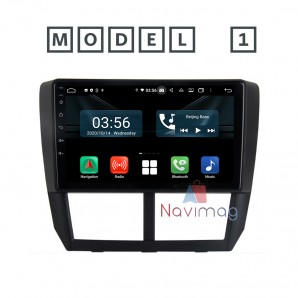2 - Subaru  Forester 2008 2009 2010 2011 2012 - Navigatie dedicata cu Android fara DVD