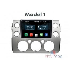 Navigatie dedicata cu Android fara DVD Toyota FJ Cruiser 2007 2008 2009 2010 2011 2012 2013 2014 2015 2016 2017 oradea