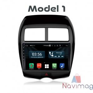 Navigatie dedicata cu Android Full Touch Mitsubishi ASX 2013 2014 2015 2016 2017 2018 2019 focsani