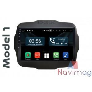 Navigatie dedicata cu Android Full Touch Jeep Renegade 2015 2016 2017 2018 2019 2020 timisoara