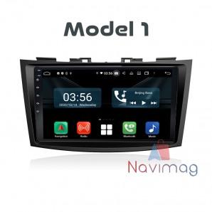 Navigatie dedicata cu Android Full Touch Suzuki Swift 2011 2012 2013 2014 2015 2016 brasov