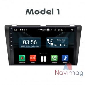 Navigatie dedicata cu Android Full Touch Mazda 3 2004 2005 2006 2007 2008 2009 pitesti