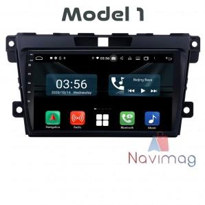 Navigatie dedicata cu Android Full Touch Mazda CX-7 2007 2008 2009 2010 2011 2012 2013 2014 2015 2016 2017 bucuresti