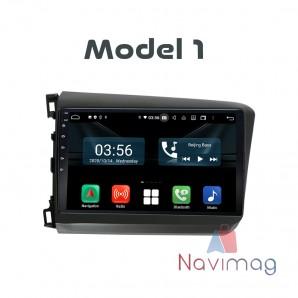 Navigatie dedicata cu Android CarPad Honda Civic 2012 2013 2014 2015