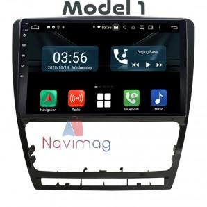 Navigatie dedicata cu Android CarPad Skoda Octavia 2008 2009 2010 2011 2012 2013 bucuresti